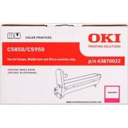 valec OKI C5850/C5950, MC560 magenta 43870022