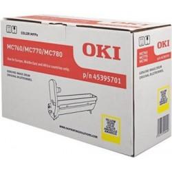 valec OKI MC760/MC770/MC780 yellow 45395701