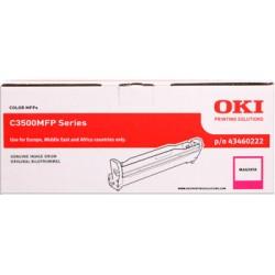valec OKI C3500MFP/C3520MFP/C3530MFP, MC350/MC360 magenta 43460222