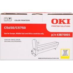 valec OKI C5650/C5750 yellow 43870005