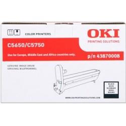 valec OKI C5650/C5750 black 43870008