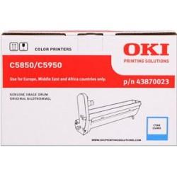 valec OKI C5850/C5950, MC560 cyan 43870023