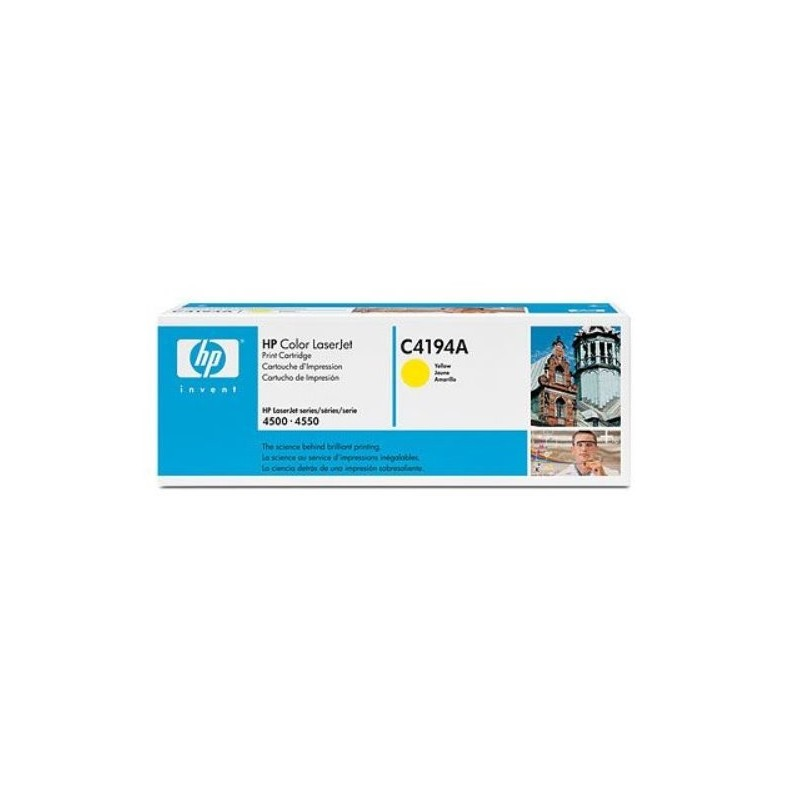 HP Yellow Toner Cartridge CLJ4500 C4194A