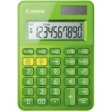 stolová kalkulačka CANON LS-100K zelená, 10 miest, solárne napájanie + batérie 0289C002