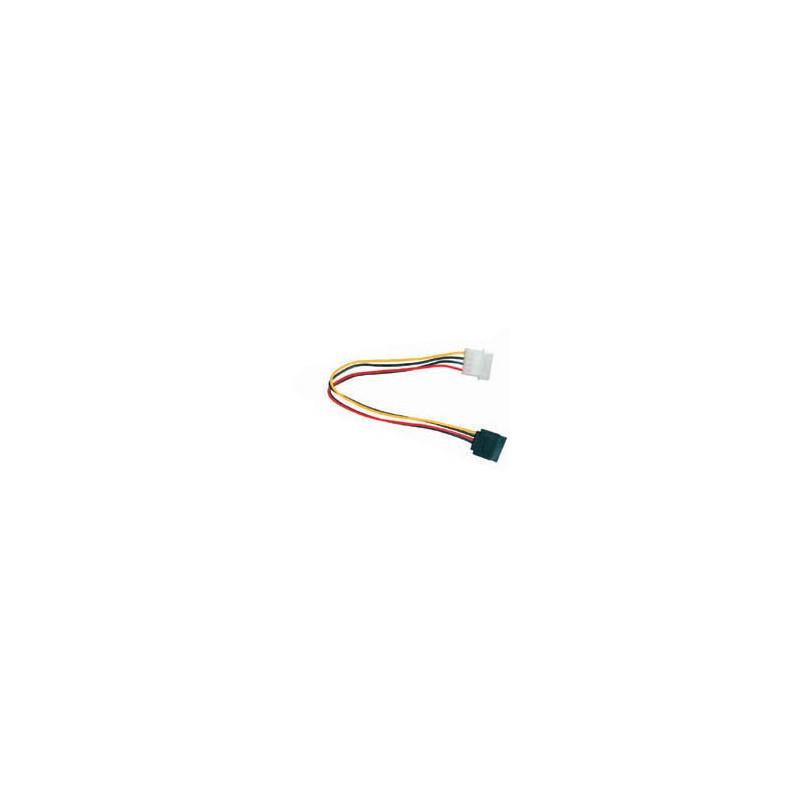SATA Power kábel / napájacia redukcia 1x MOLEX 5,25 na 1xSATA SKKABSATAR