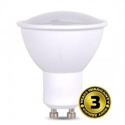 Solight LED žiarovka, bodová , 5W, GU10, 6000K, 400lm, biela WZ324