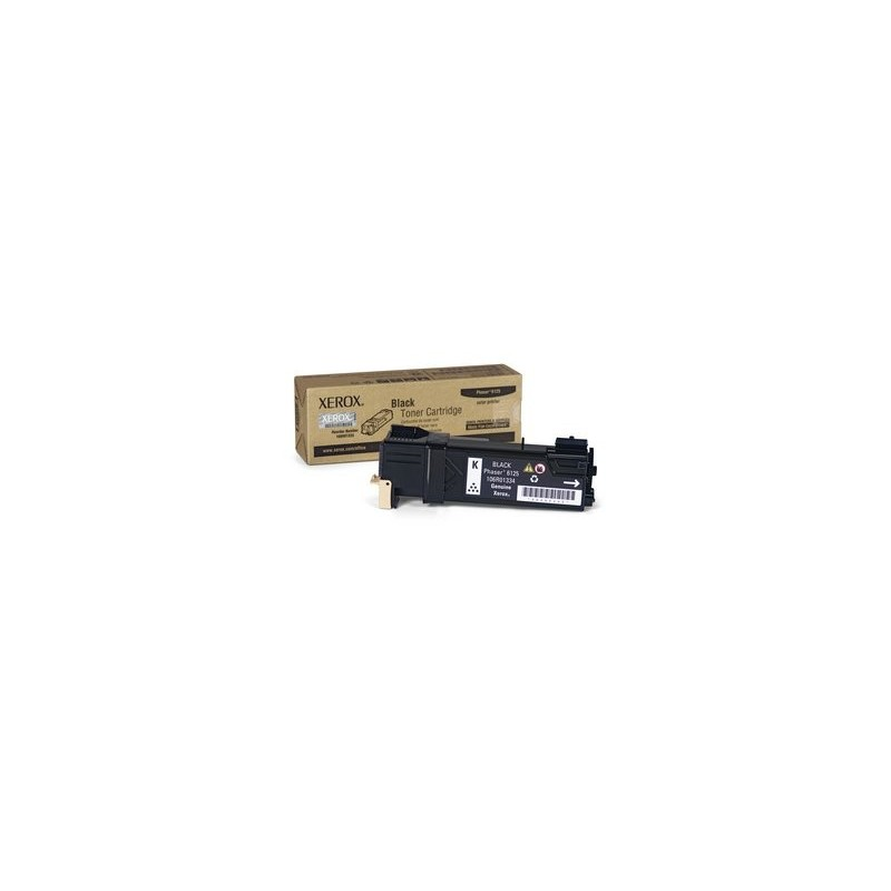 BLACK TONER CARTRIDGE, PHASER 6125 2K 106R01338