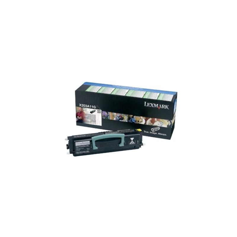 Lexmark X203, X204 Return Program Toner Cartridge 2,5k X203A11G