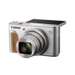 Canon PowerShot SX740HS, Silver - 20MP, 40x zoom, 24-960mm, 4K 2956C002