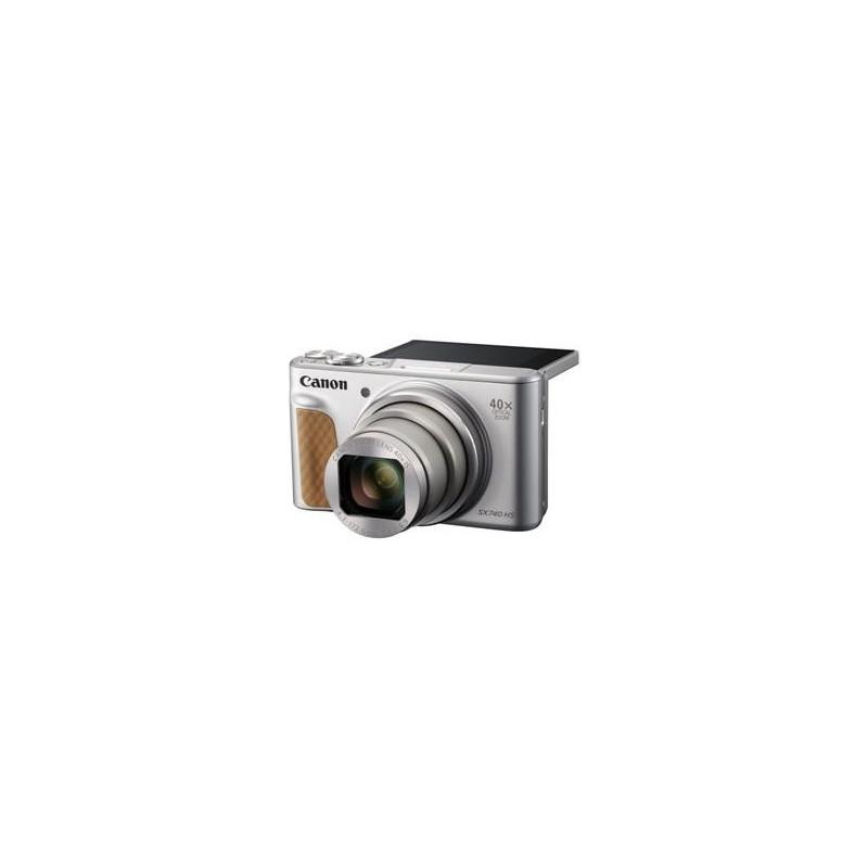 Canon PowerShot SX740HS, Silver - 20MP, 40x zoom, 24-960mm, 4K 2956C002