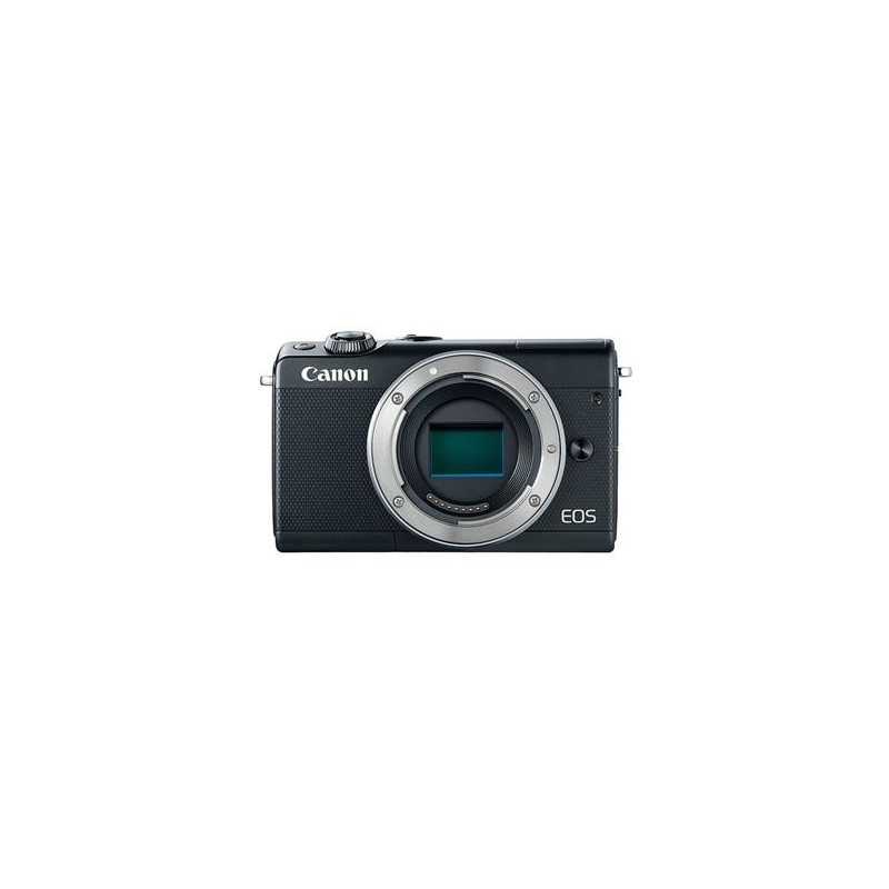 "Canon EOS M100 Body Black, bezzrcadlovka , 24 MP, 3,0"", WIFI 2209C002"
