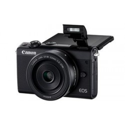Canon EOS M100 Black + EF-M 15-45mm f/3.5-6.3 IS STM + EF-M 22mm f/2 STM 2209C032