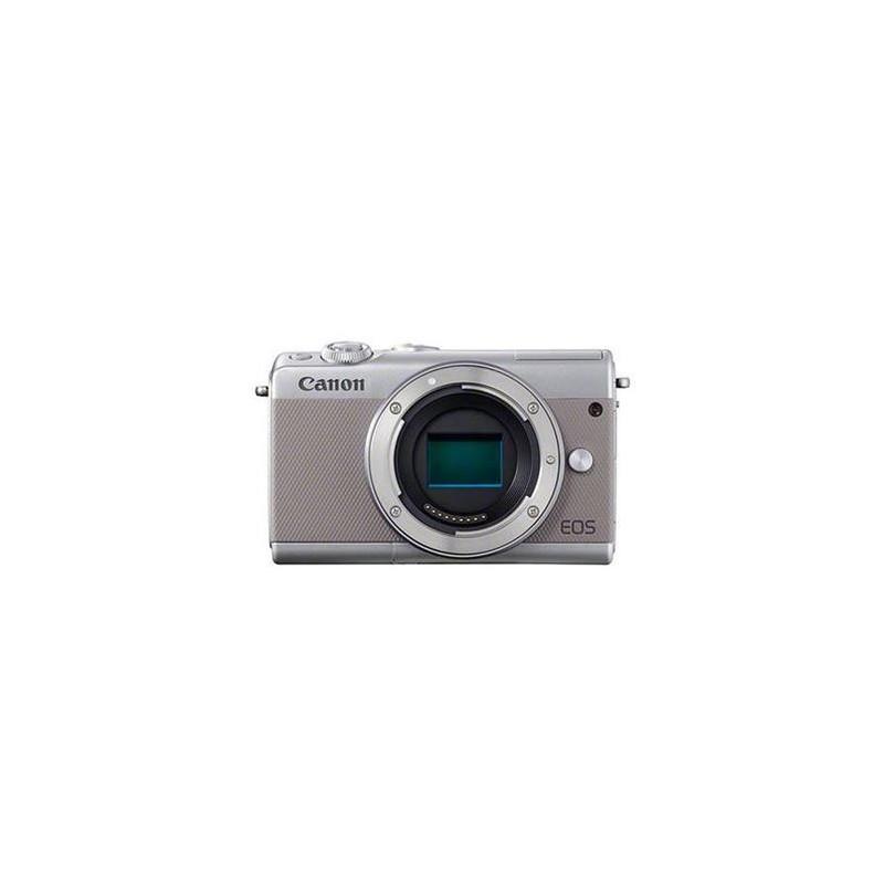 "Canon EOS M100 Body Grey, bezzrcadlovka, 24 MP, 3,0"", WIFI 2211C002"