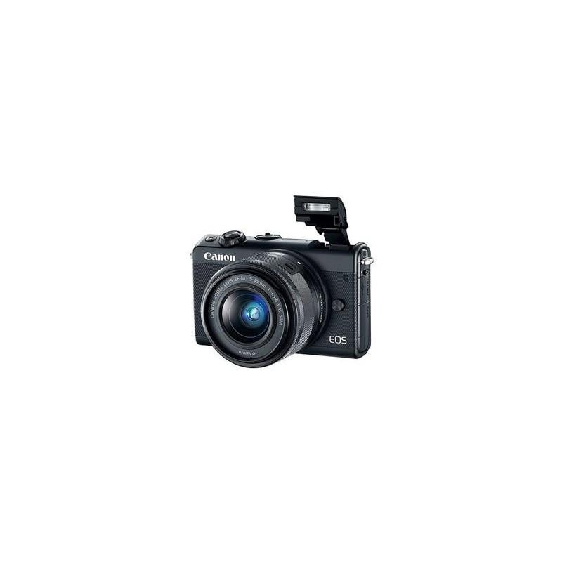 Canon EOS M100 Black + EF-M 15-45mm f/3.5-6.3 IS STM + IRISTA 2209C096
