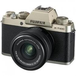 Fujifilm X-T100 + XC15-45 - 24,3MP - Champagne gold 16583107
