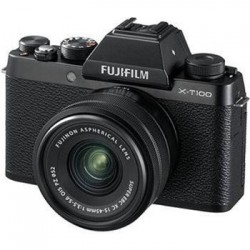 Fujifilm X-T100 + XC15-45 - 24,3MP - Black 16582892