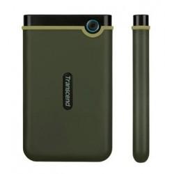 """TRANSCEND 1TB StoreJet 25M3G SLIM, USB 3.0, 2.5"""" Externí Anti-Shock disk, tenký profil, armádní zelená TS1TSJ25M3G"""