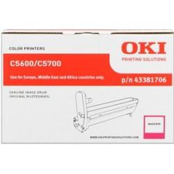 valec OKI C5600/C5700 magenta 43381706