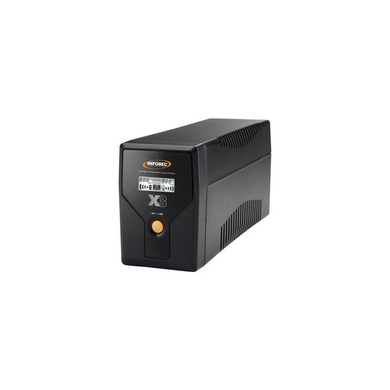 INFOSEC X3 EX LCD USB 500 65965