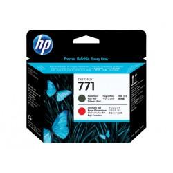 HP tlačová hlava č. 771, matná čierna / chromatická červená CE017A