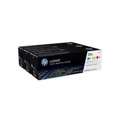 HP Trojité balenie tonerových kaziet HP131A azúrová/ purpurová/ žltá U0SL1AM