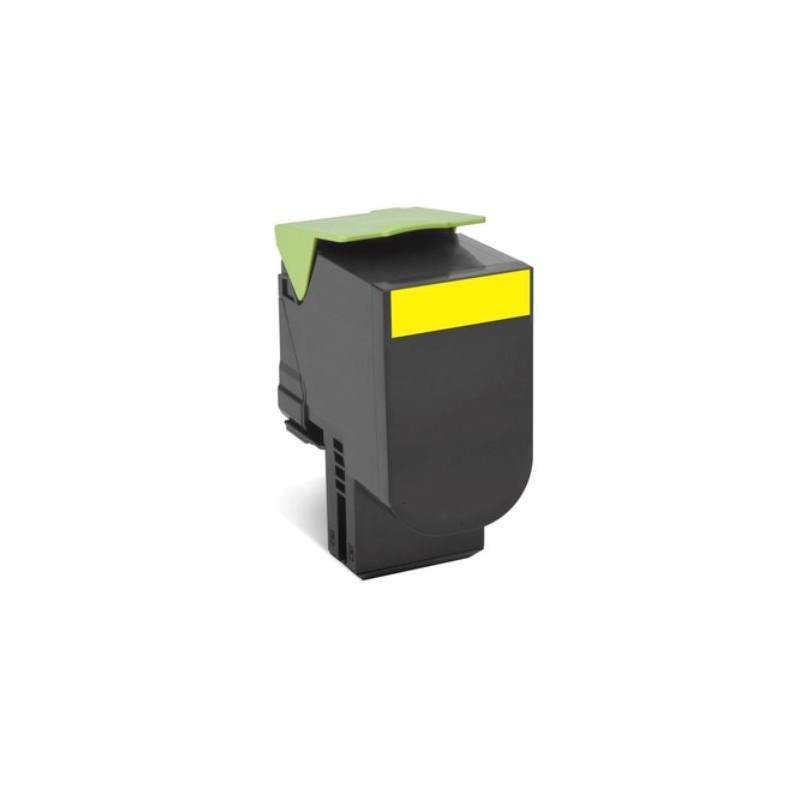 Lexmark 802XC Cyan Extra High Yield Return Program Toner Cartridge CX510 4K 80C2XC0