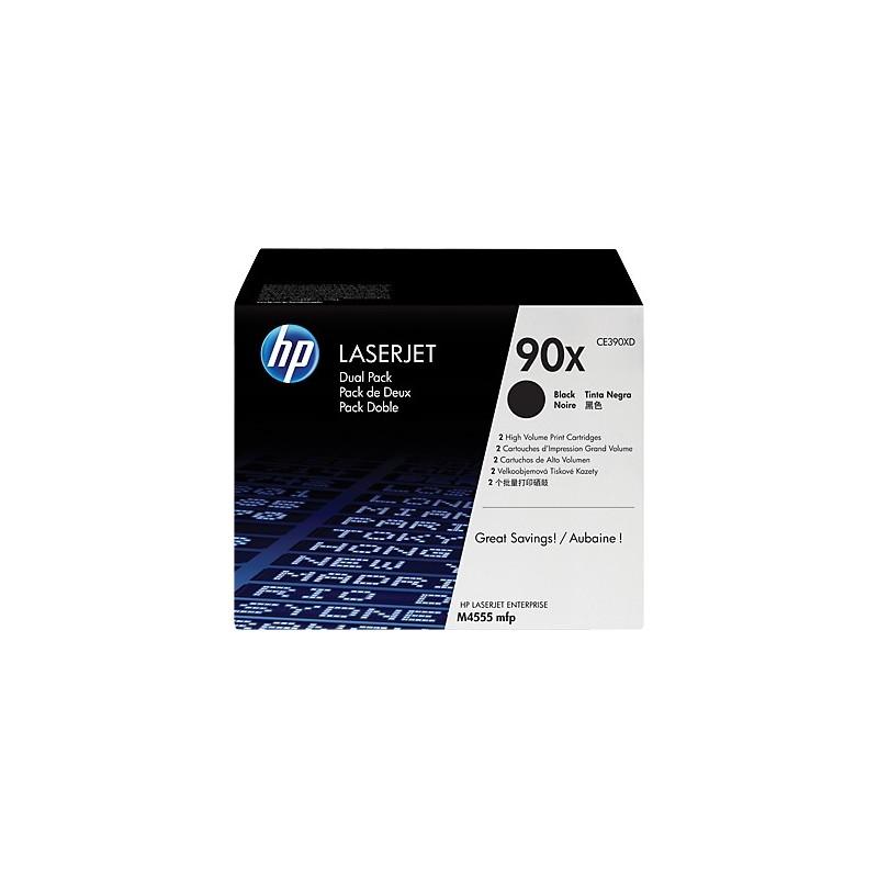 HP toner čierny HP90X dvojite balenie CE390XD