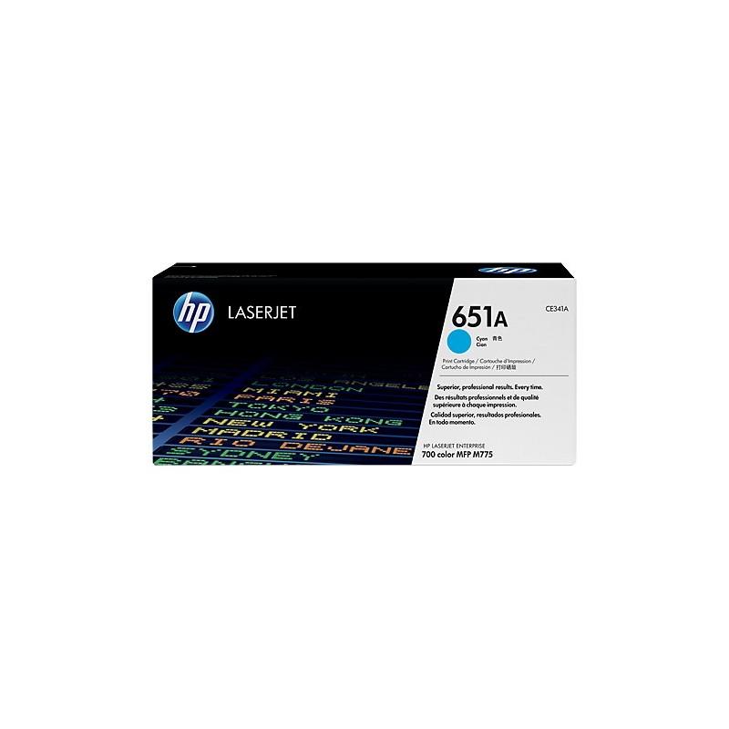 Toner HP 651A cyan CE341A