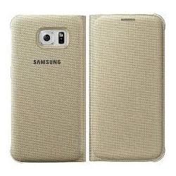 Samsung Flip púzdro pre Galaxy S6, Zlatá EF-WG920BFEGWW