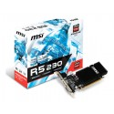 MSI Radeon R5 230 GAMING 2G LP, DP, HDMI, DVI R5 230 2GD3H LP