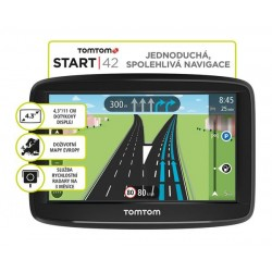 TomTom Start 42 EU45, Lifetime 1AA4.002.03