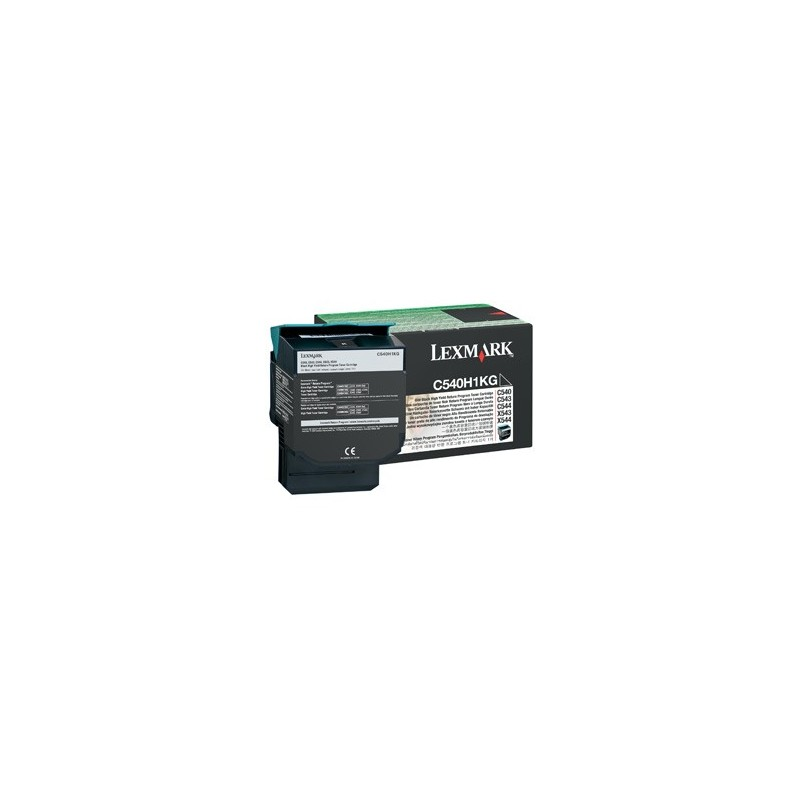 Lexmark C544,x544, 4K Cyan Return program Toner Cartridge C544X1CG