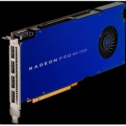 AMD Radeon Pro WX 7100 Workstation Graphics 8GB/256bit GDDR5 4x DP 100-505826