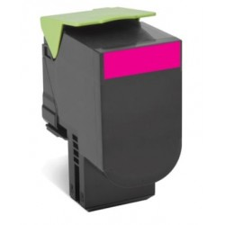 Lexmark 802XM Magenta Extra High Yield Return Program Toner Cartridge CX510 4K 80C2XM0