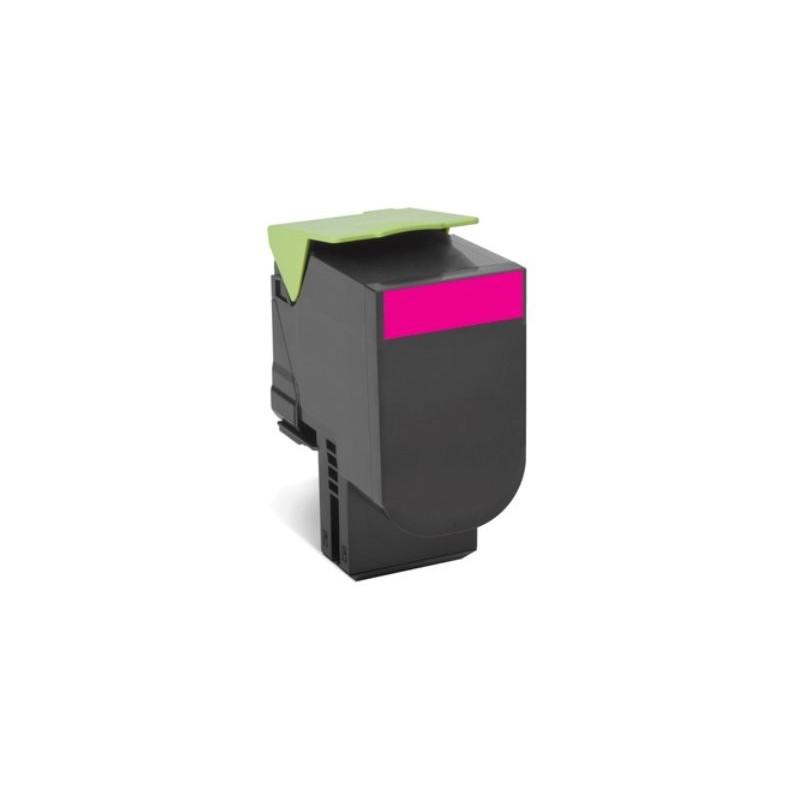 Lexmark 802XM Magenta Extra High Yield Return Program Toner Cartridge CX510 4K 80C2XM0