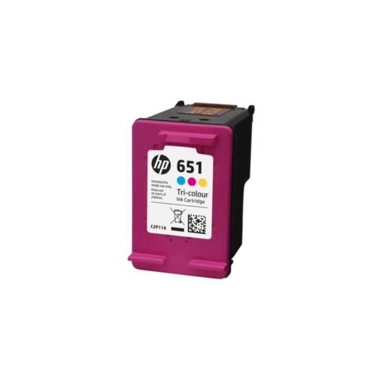 C2P11AE Trojfarebná originálna atramentová kazeta HP 651 Ink Advantage