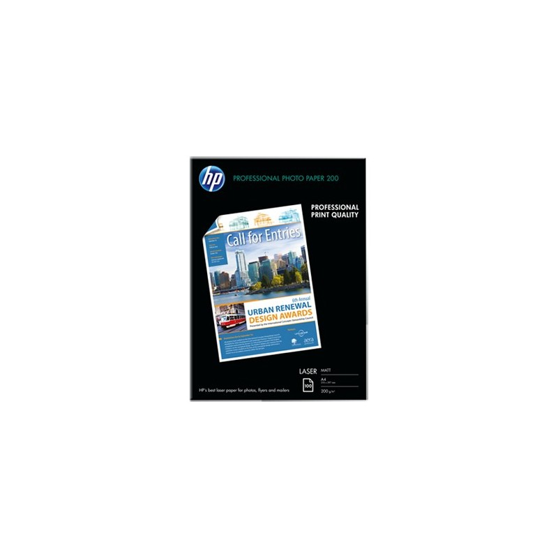 HP Photo Laser Paper 200 Matt-200 g/m2/A4/210 x 297 mm/100sh Q6550A