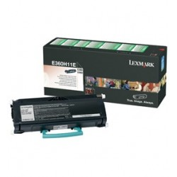 Lexmark E360, E460, 9K High Yield Return ProgramToner Cartridge E360H11E