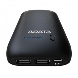A-DATA Power Bank P10050, 10050mAh, Black AP10050-DUSB-5V-CBK