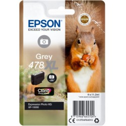 Epson atrament XP-15000 grey XL 11.2ml C13T04F64010