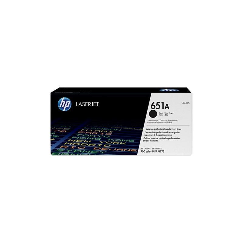Toner HP 651A black CE340A