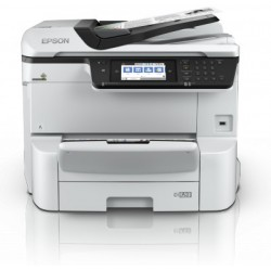 Epson WorkForce Pro WF-C8610DWF, A3+, All-in-One, GLAN, duplex, ADF, Fax, Wifi, NFC + 2x cierny atrament XL C11CG69401