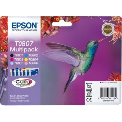 Epson atrament SP R265,R285,RX585,PX660,PX700W,PX800FW all color...