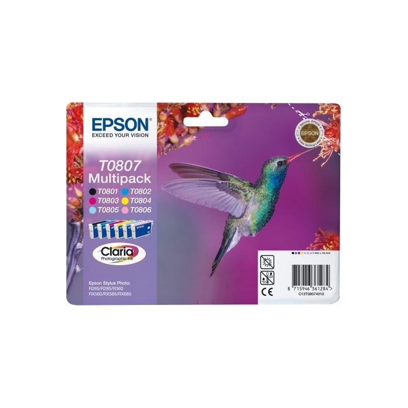 Epson atrament SP R265,R285,RX585,PX660,PX700W,PX800FW all color C13T08074011