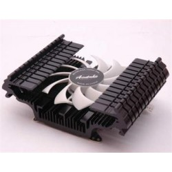Acutake ACU-DVR 01 DarkVGA Rectangle, chladič karet, (113x80x40), GeForce 4, FX 5700, 5800, 5900, 5950, 5900 LE,