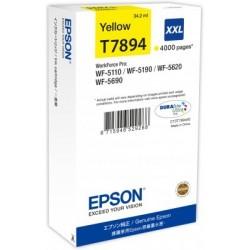 Epson atrament WF5000 series yellow XXL - 34.2ml C13T789440