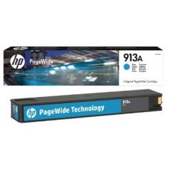 HP 913A Cyan Original PageWide Cartridge F6T77AE