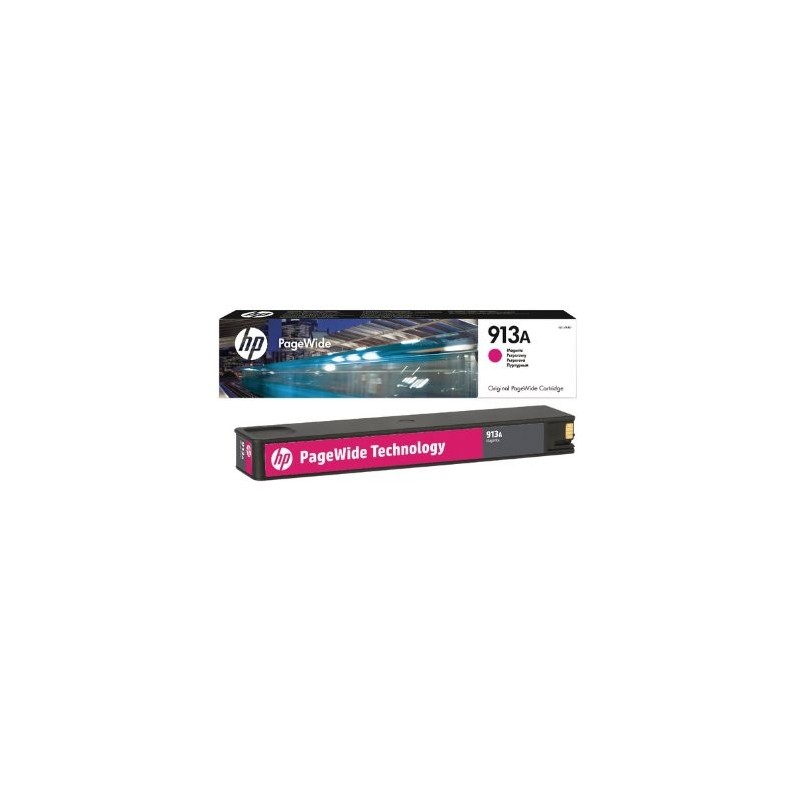 HP 913A Magenta Original PageWide Cartridge F6T78AE