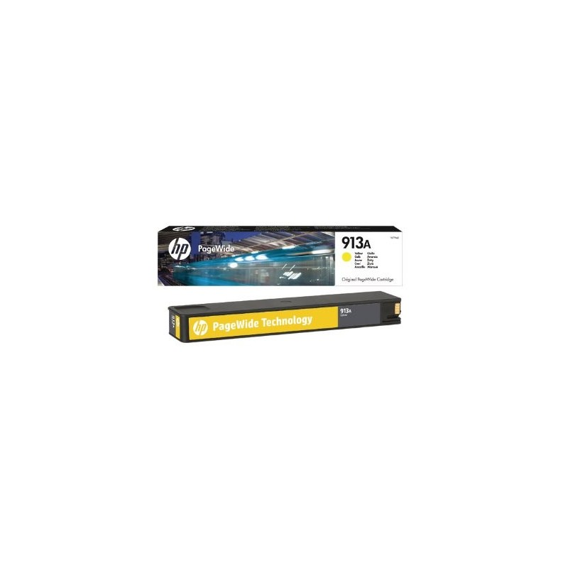 HP 913A Yellow Original PageWide Cartridge F6T79AE