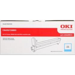 valec OKI C8600/C8800 cyan 43449015
